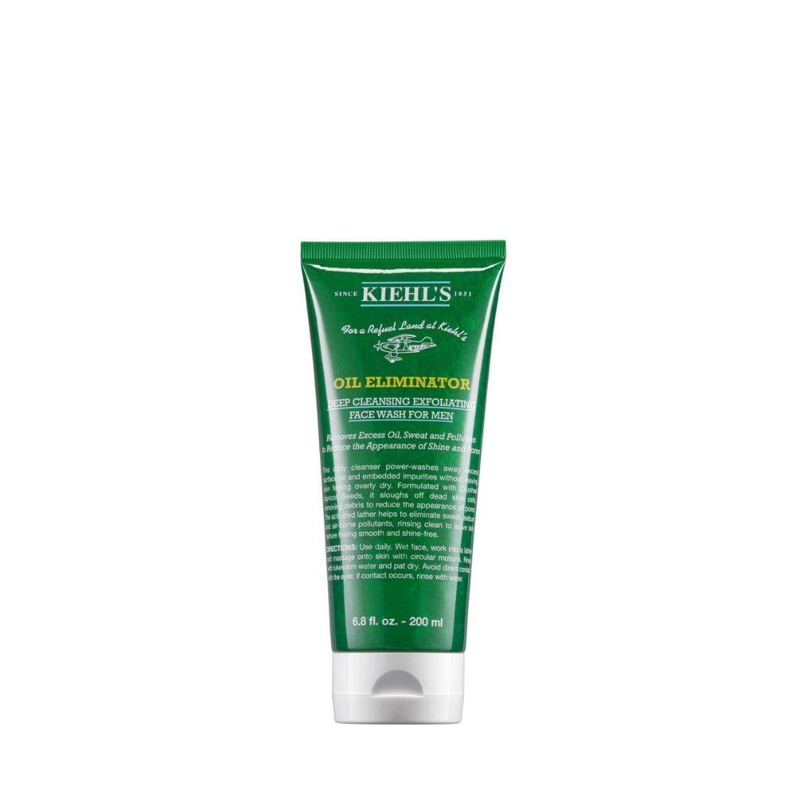 Kiehls Since 1851 Oil Eliminator Deep Cleansing Exfoliating Face Wash for Men 200ml