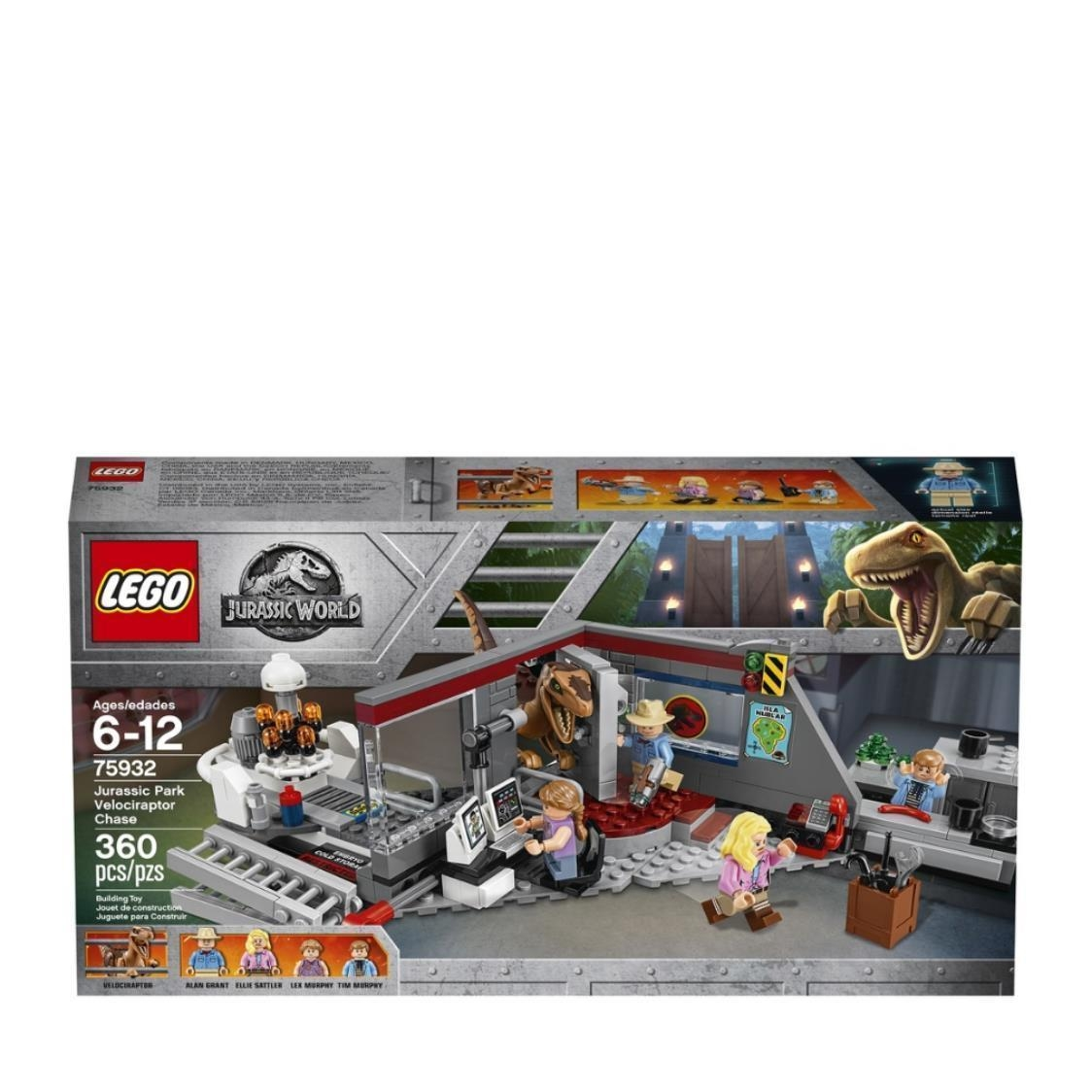 LEGO Jurassic World - Jurassic Park Velociraptor Chase 75932 V29