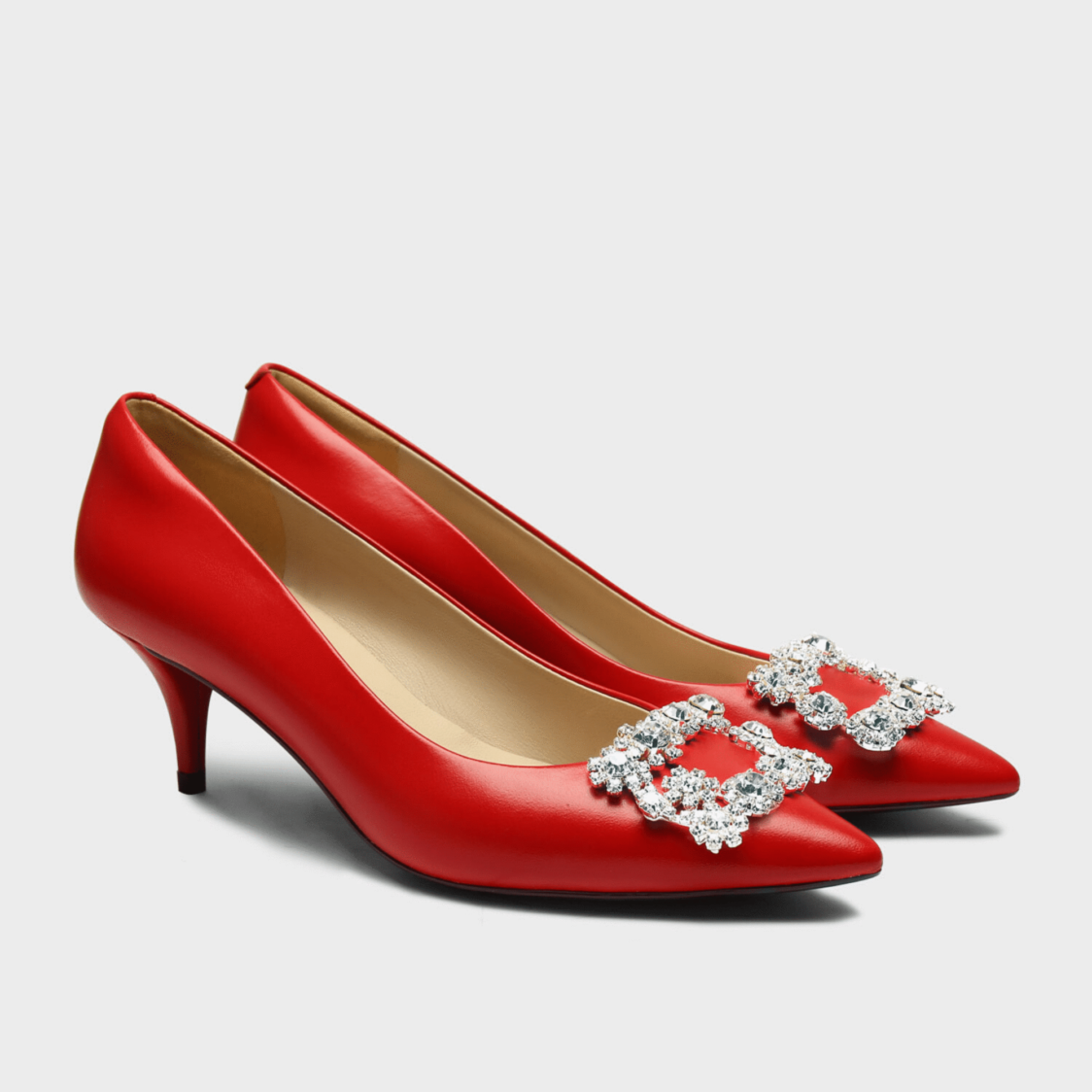 Hope Rosa Marylyn Pump Red