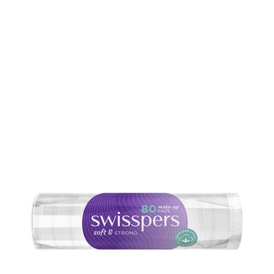 Swisspers Make Up Pads 80 Sheets