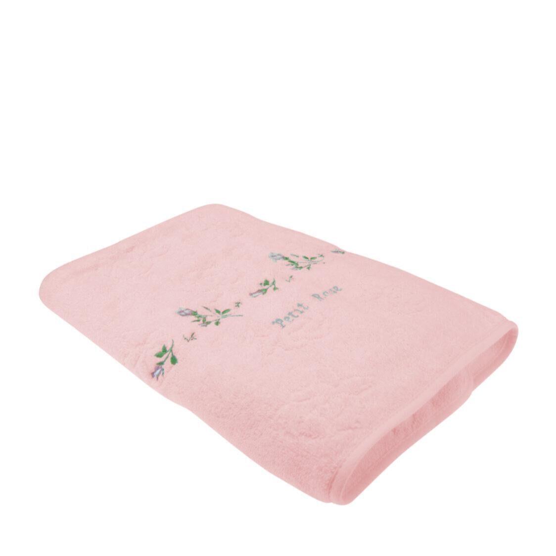Petit Rose 100 Combed Cotton Bath Towel Pink