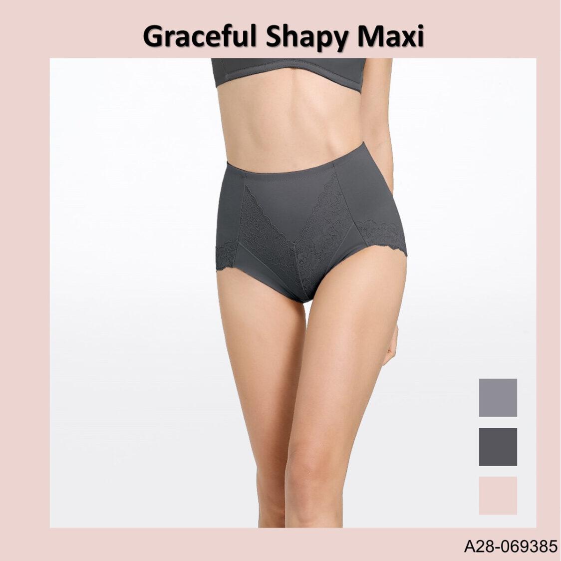 Graceful Shapy Maxi A28-069385LGY Light Grey
