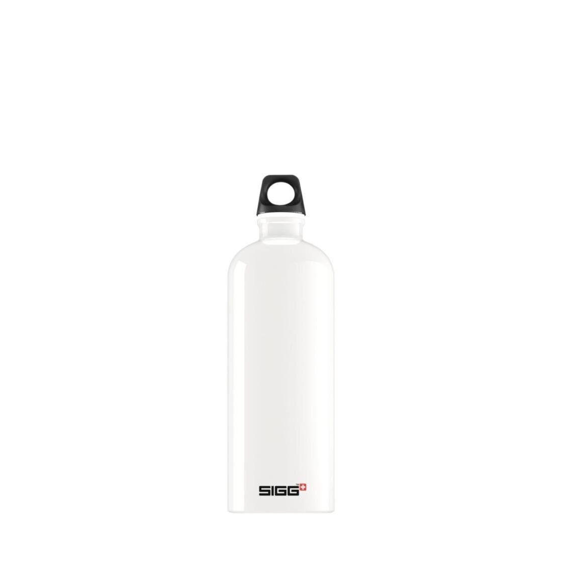 Sigg Traveller 1L Water Bottle White 815910