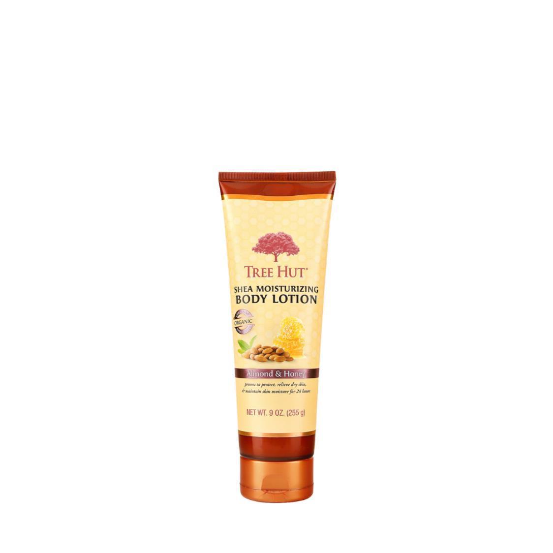 Shea Moisturizing Body Lotion Almond  Honey 9oz 255g