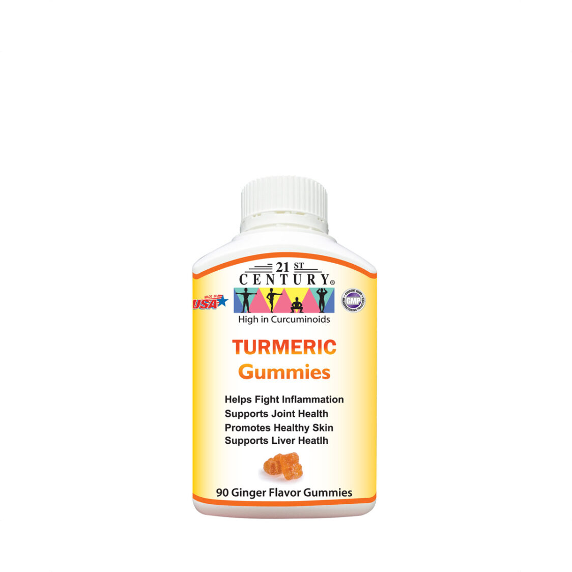 21st Century Turmeric 90 Gummies