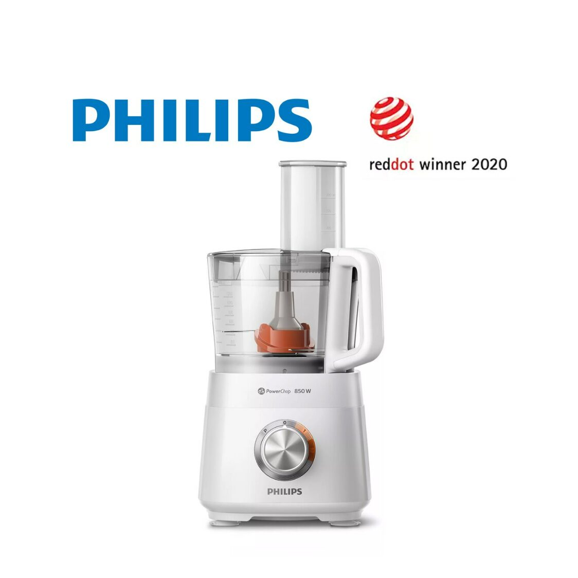 Philips 850W Viva Collection Compact Food Processor HR752001