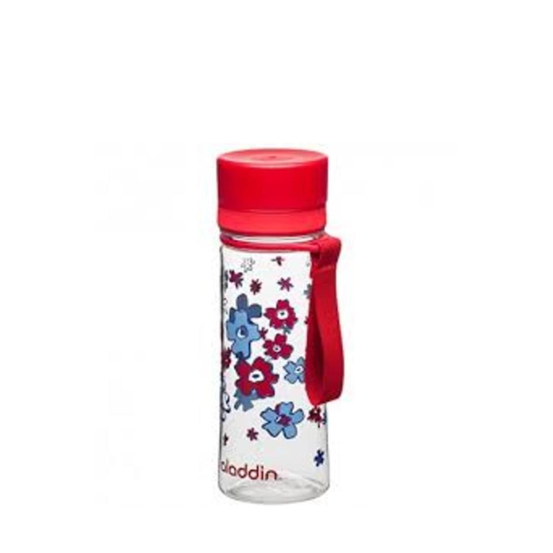 BPA-Free Aveo Water Bottle Graphic Red 03L1101-BPA-F-RG