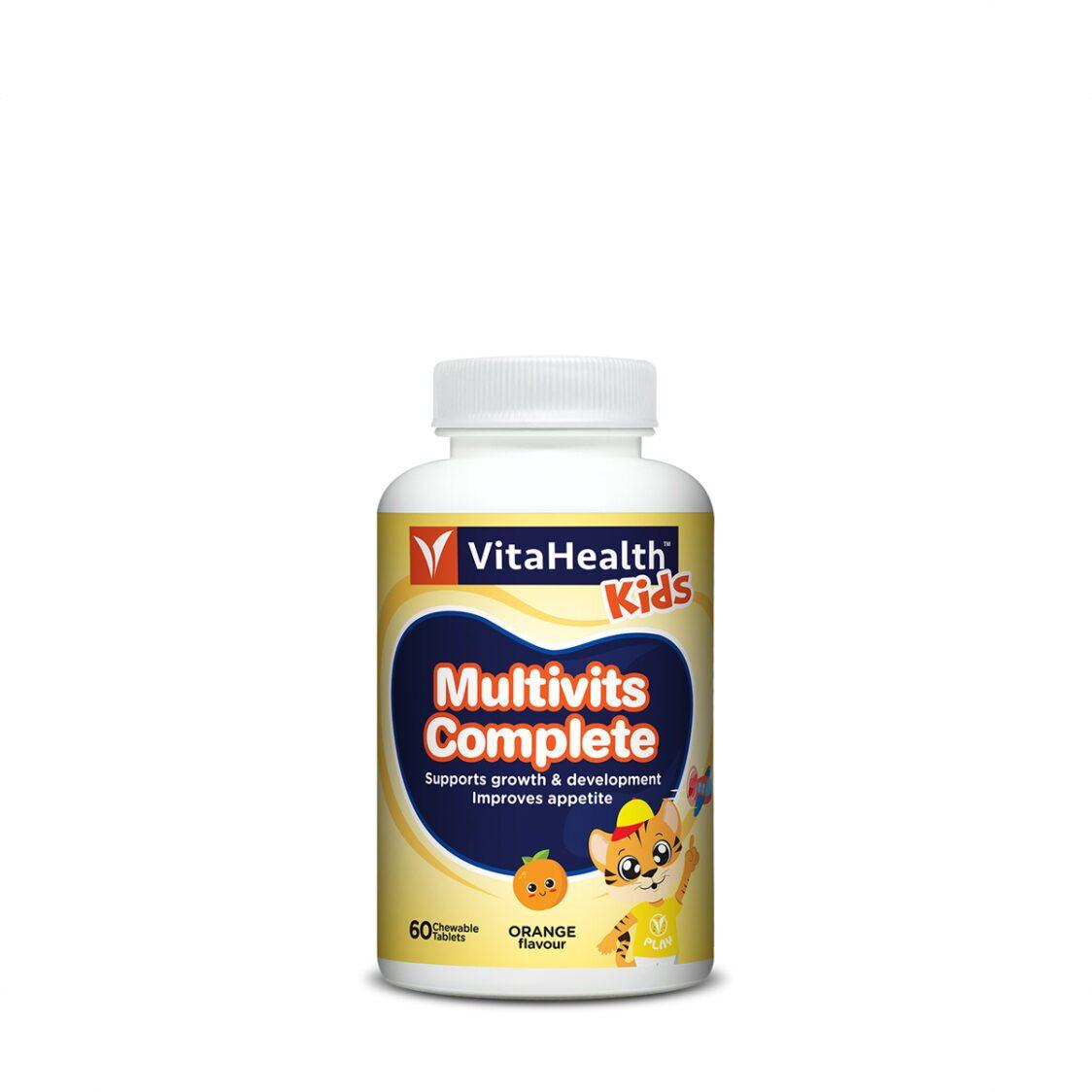 VitaHealth Kids Multivits Complete 60 Chewable Tablets