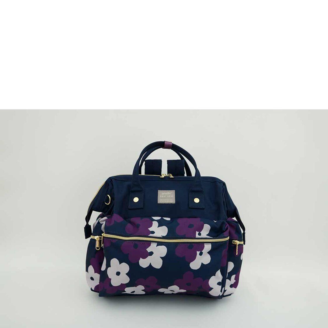 Anello X Sousou 3Way Boston Bag Navy