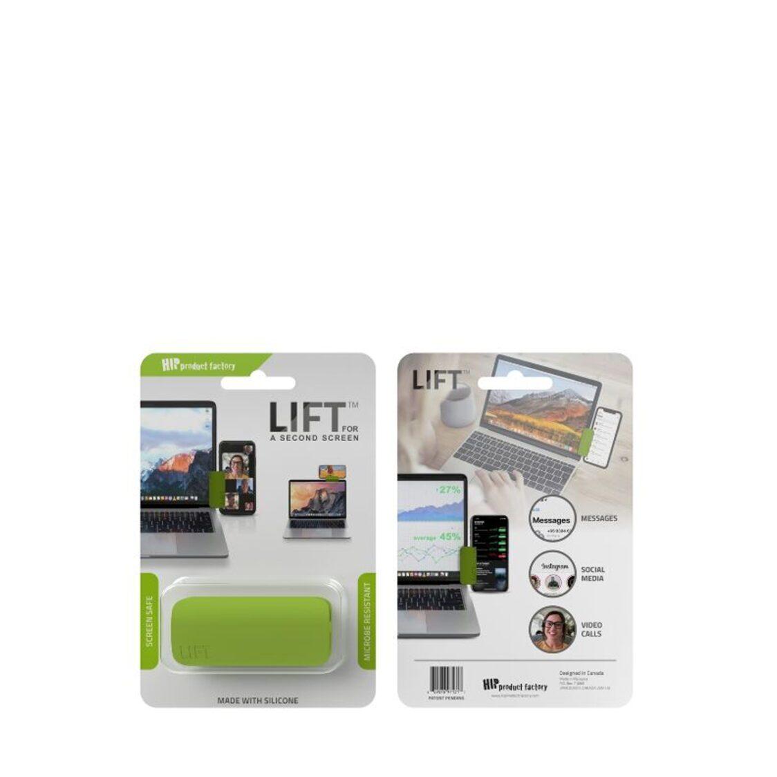 Hip Lift Phone Clip Green