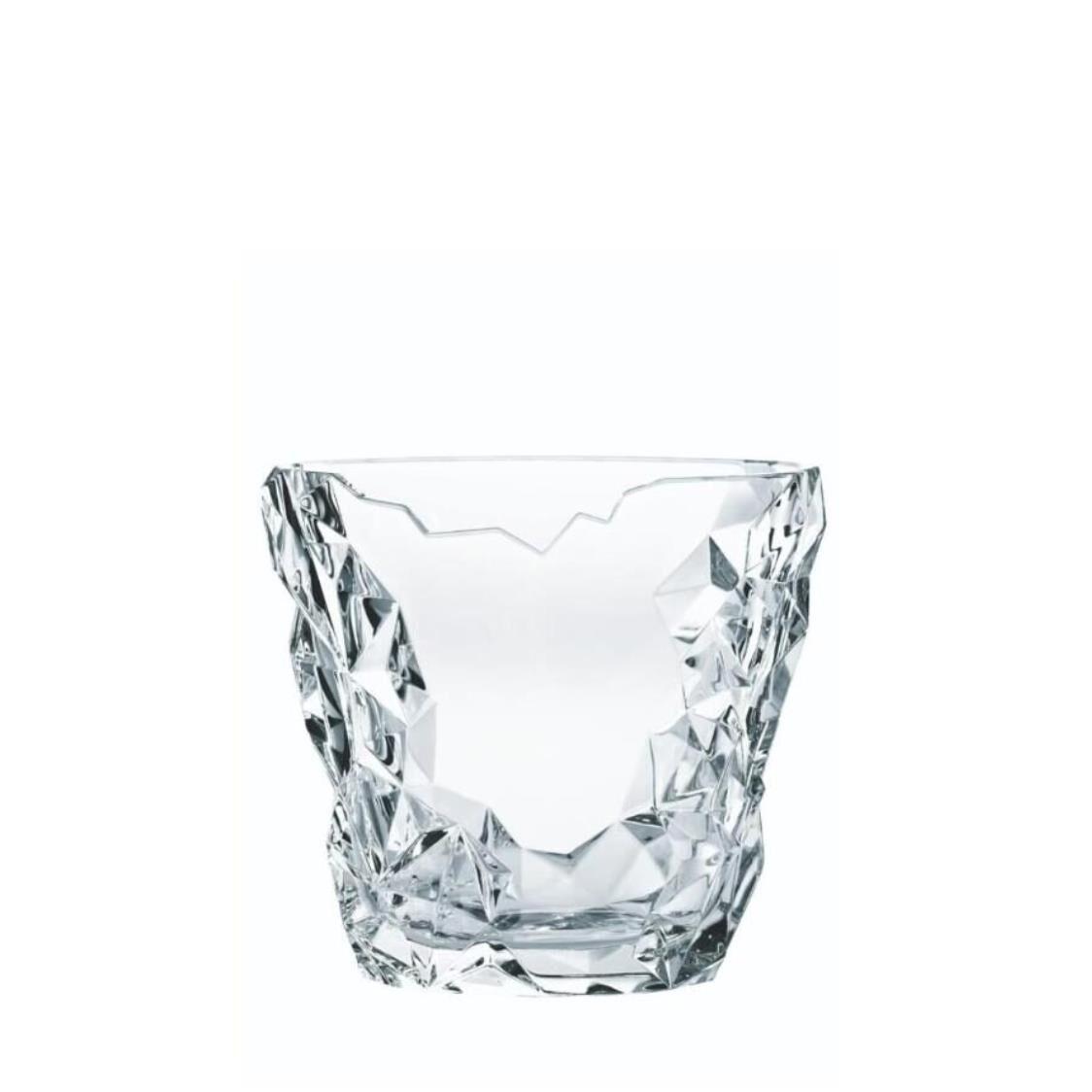 Nachtmann Lead Free Crystal Oval Vase H21cm Sculpture R-90053