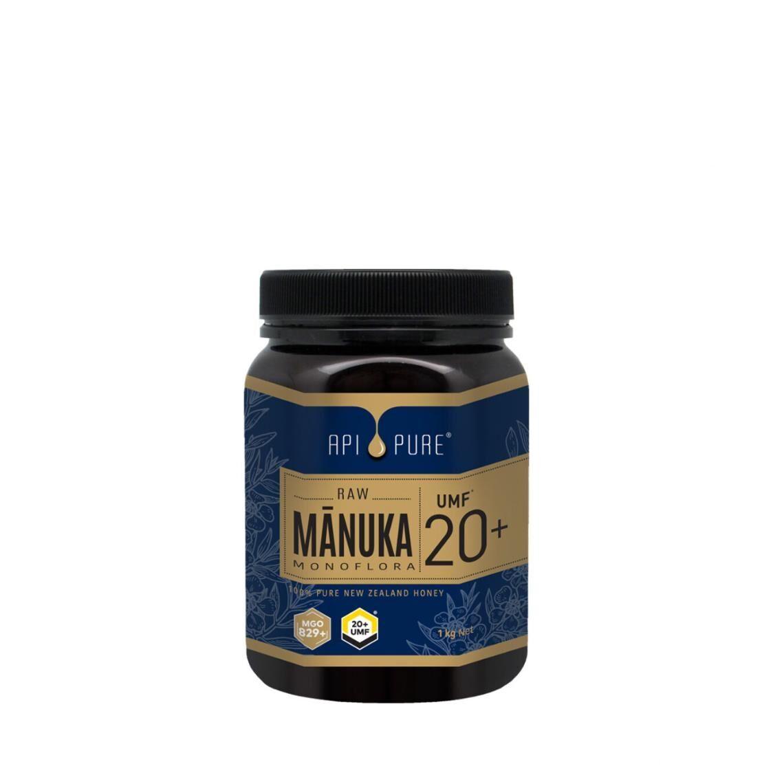 Apipure Raw Manuka UMF20 1kg