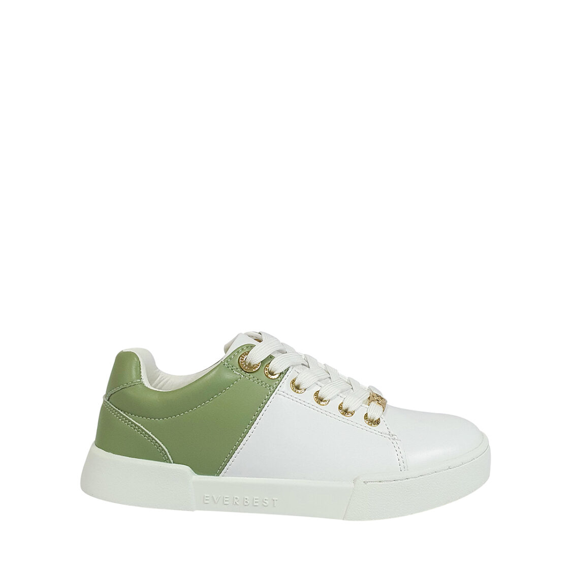 Everbest Comfort Lace Up Sneakers in Green
