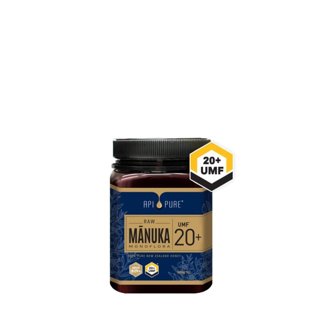 Apipure Raw Manuka UMF20 500g