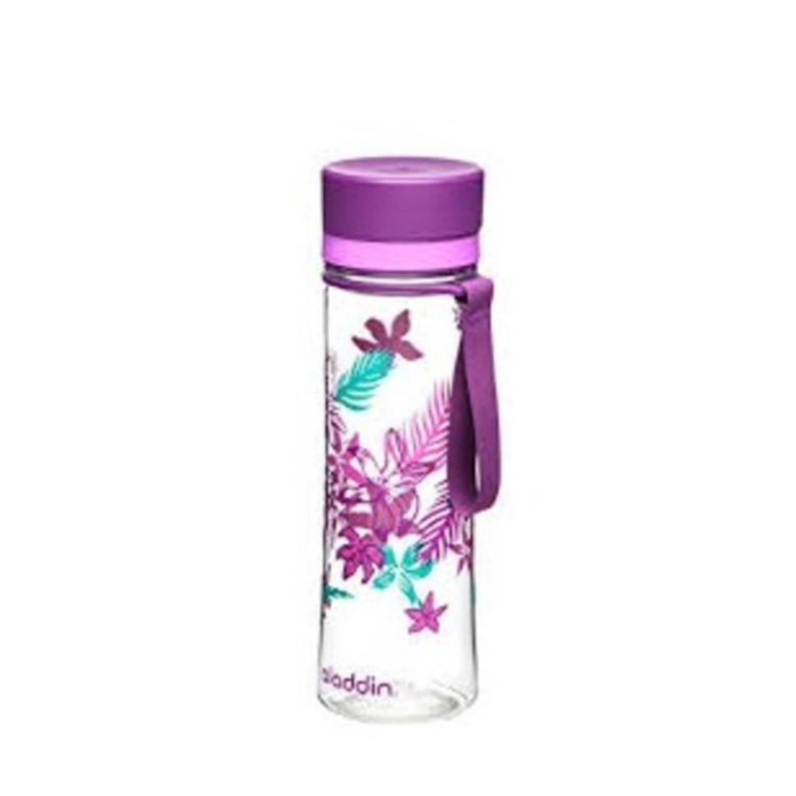 BPA-Free Aveo Water Bottle Graphic Purple 06L 1102-BPA-F-PG