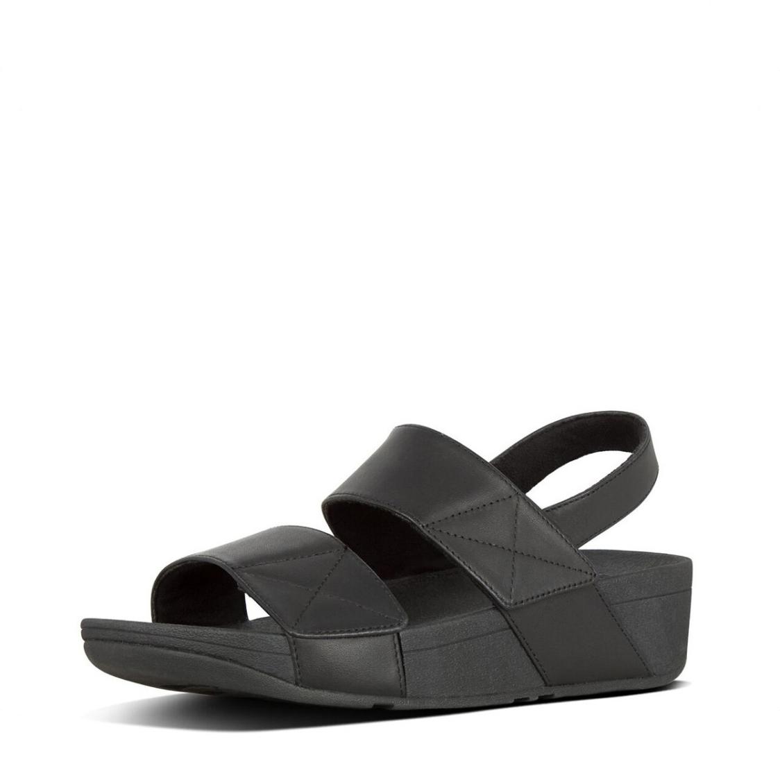 Fitflop Mina Back Strap Sandals Black