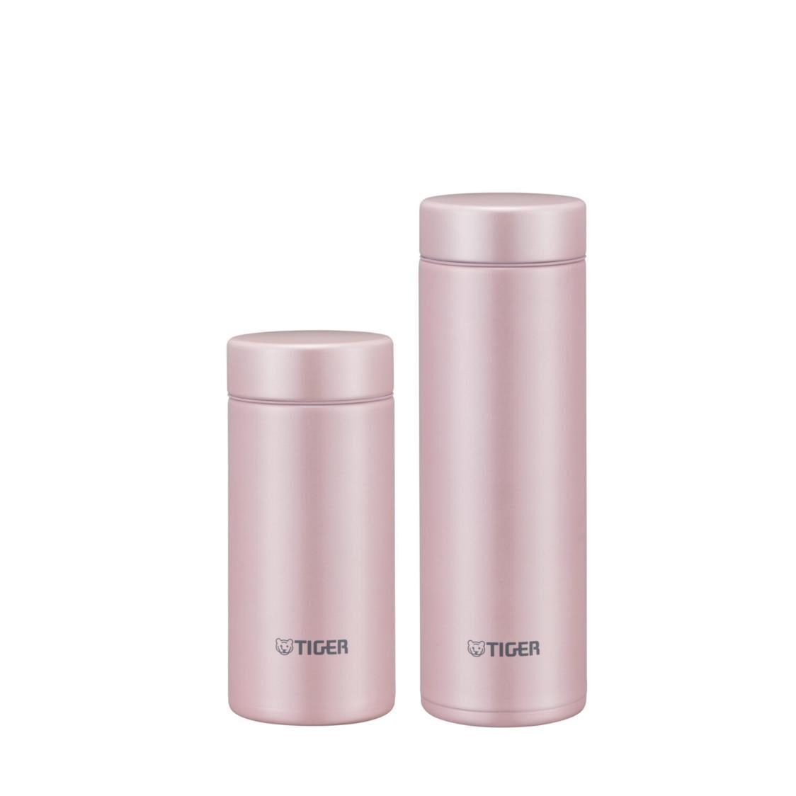 Tiger 200ML300ML Ultra Light Double SSteel Bottle Set - Shell Pink MMP-S021  MMP-J031 PS