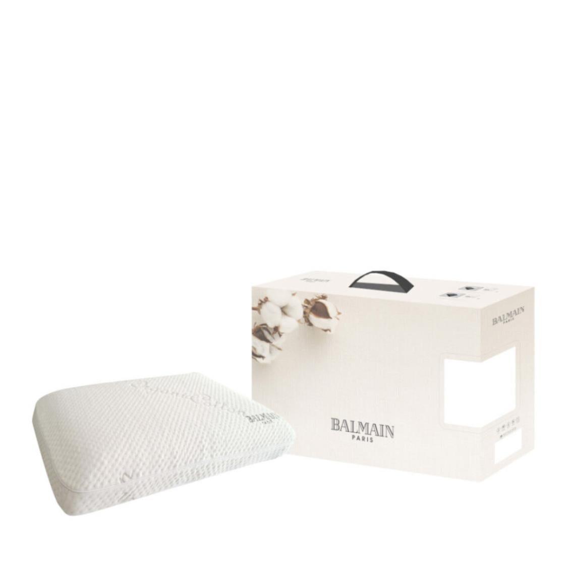 Balmain Organic Cotton Memory Foam Pillow - Comfort