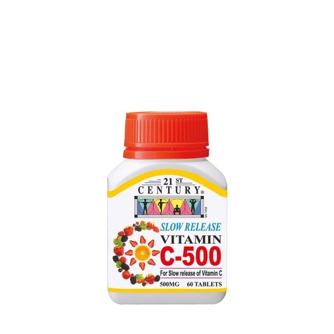 C500mg Slow Release 60s