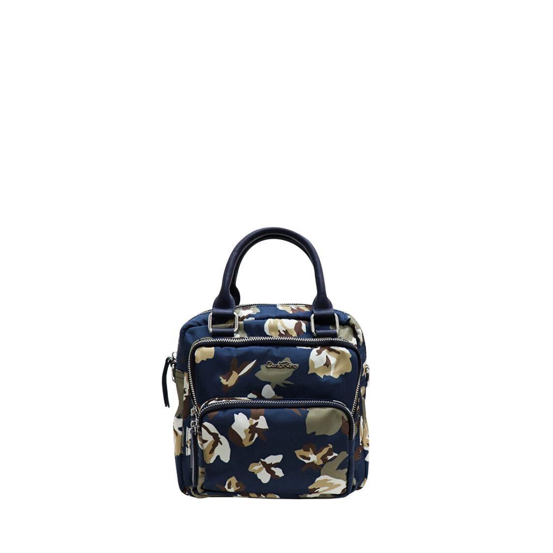 Carlo Rino Mini Backpack Floral Print 34638-009-00