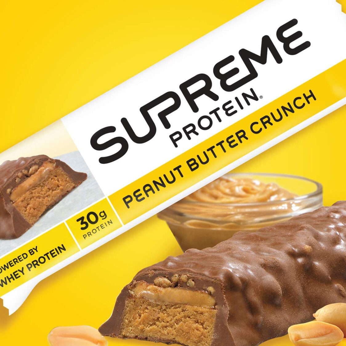 Supreme Protein Peanut Butter Crunch Box 12 Bars