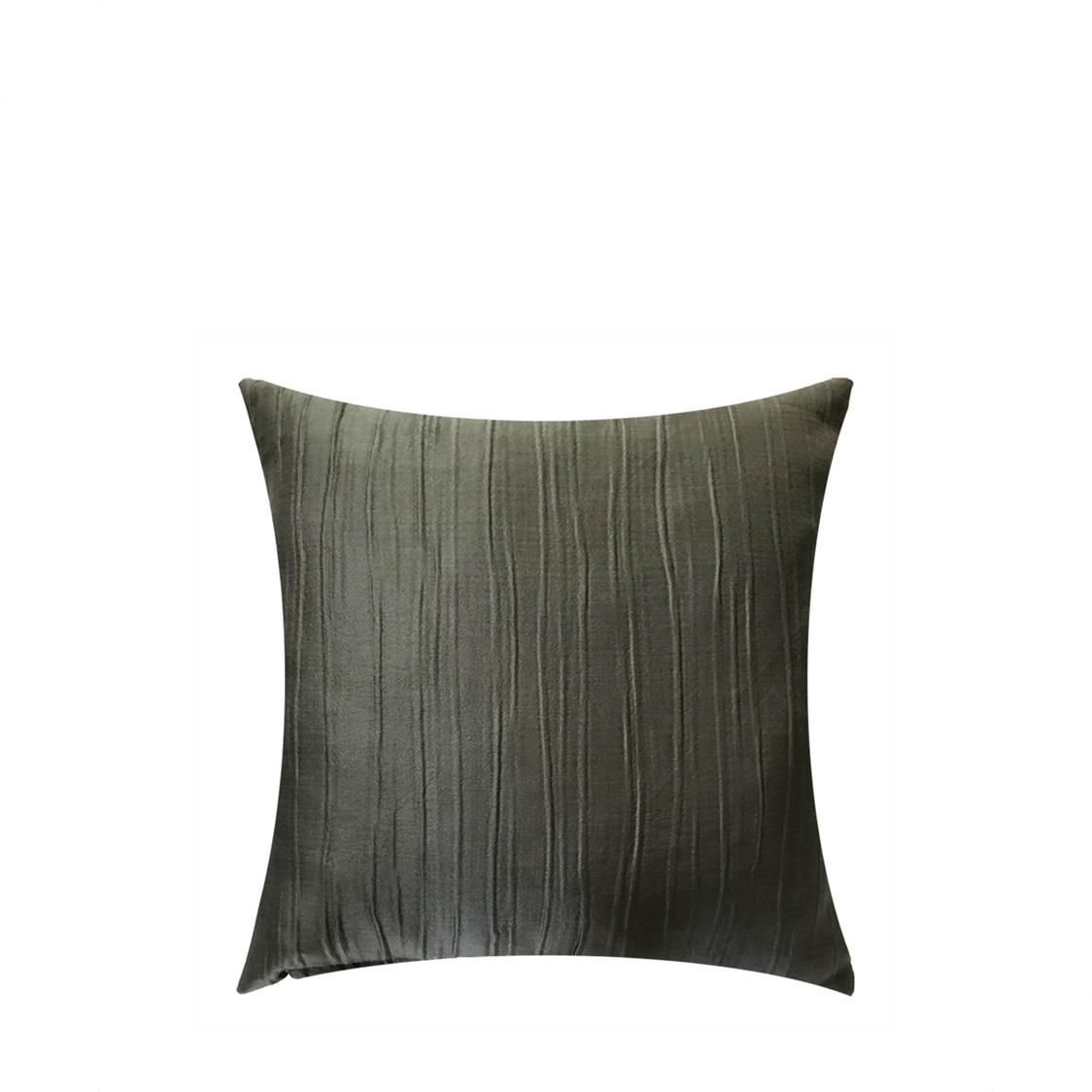 JRapee Pleats Cushion Cover Grey 43x43cm