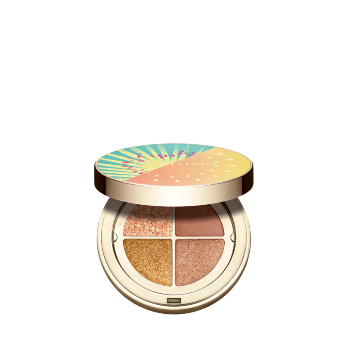 Clarins Summer Ombre 4-Colour Eyeshadow Palette