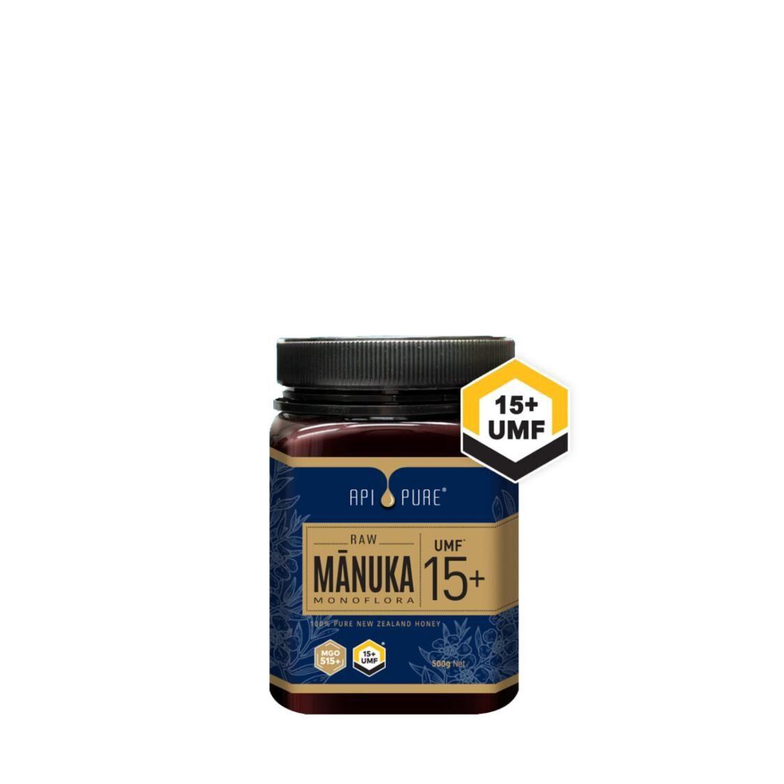 Apipure Raw Manuka UMF15 500g