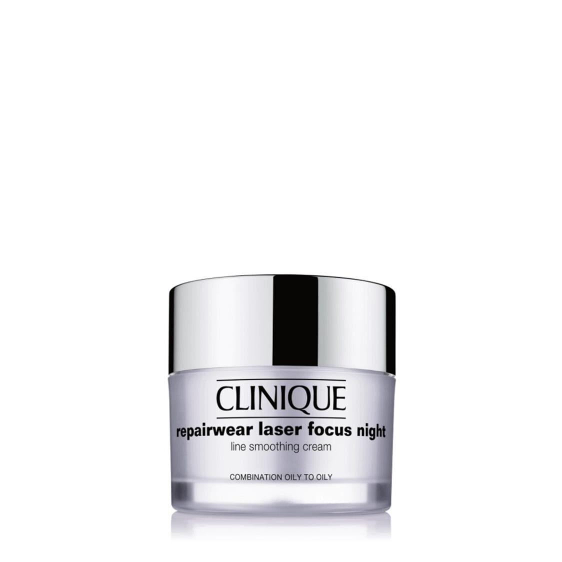 Clinique Repairwear Laser Focus Night Line Smoothing Cream Combination Oily  50ml