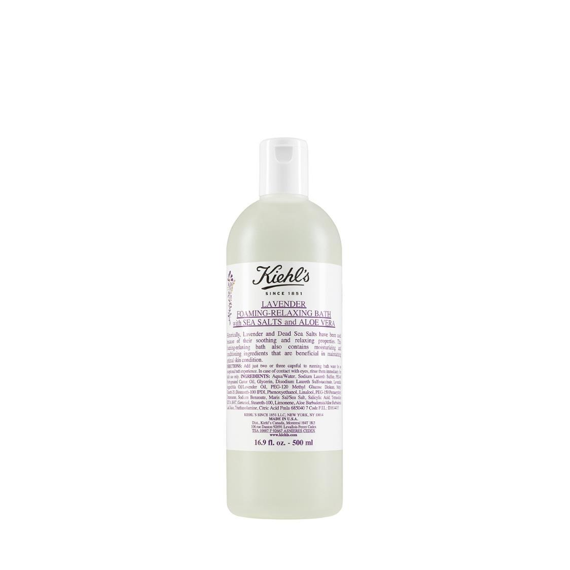 Kiehls Since 1851 Lavender Foaming-Relaxing Bath with Sea