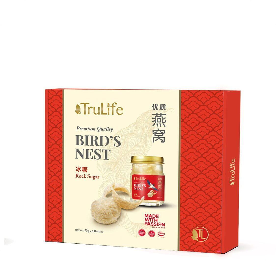 TruLife Birds Nest With Rock Sugar 70gx6