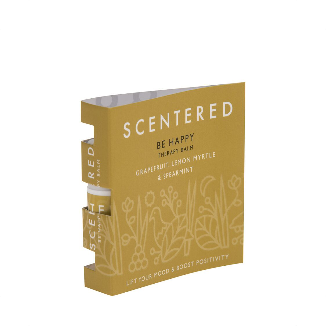 Scentered Be Happy Mini Therapy Balm In Booklet 15g