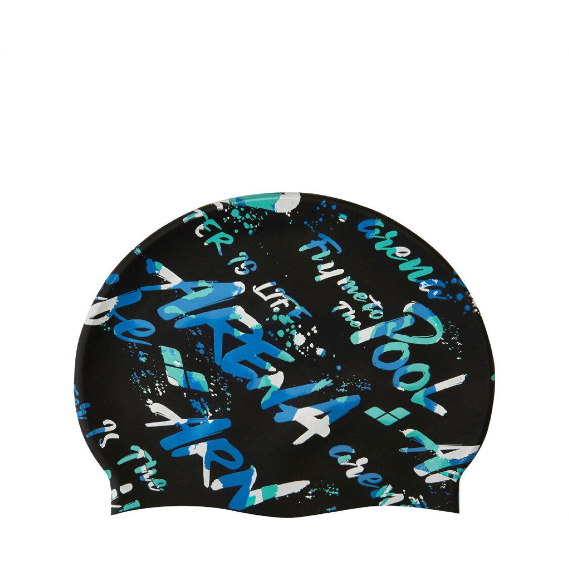 Arena Adult Swim Cap Black Blue AAAMS9600BKBU