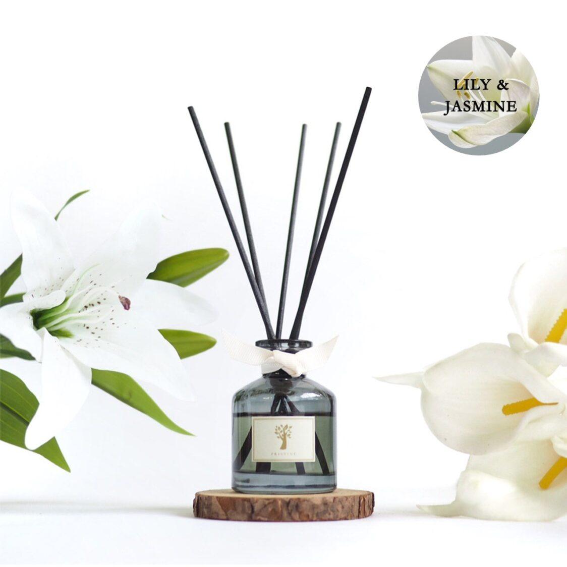 Pristine Aroma Lily  Jasmine Reed Diffuser 50ml