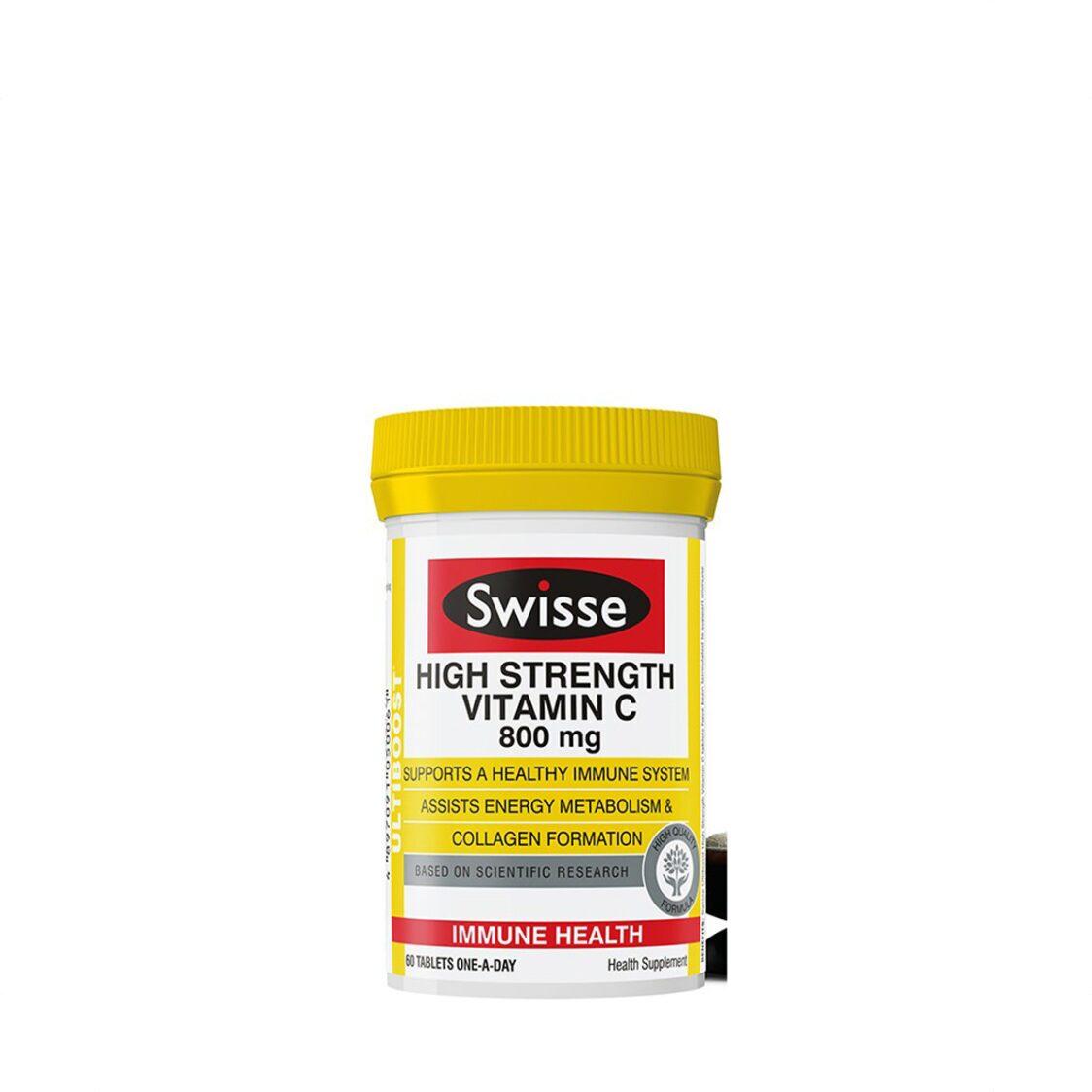 Swisse Ultiboost High Strength C 60s