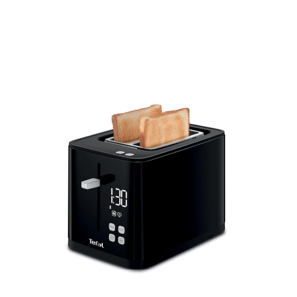Tefal Digital Black Toaster 2S