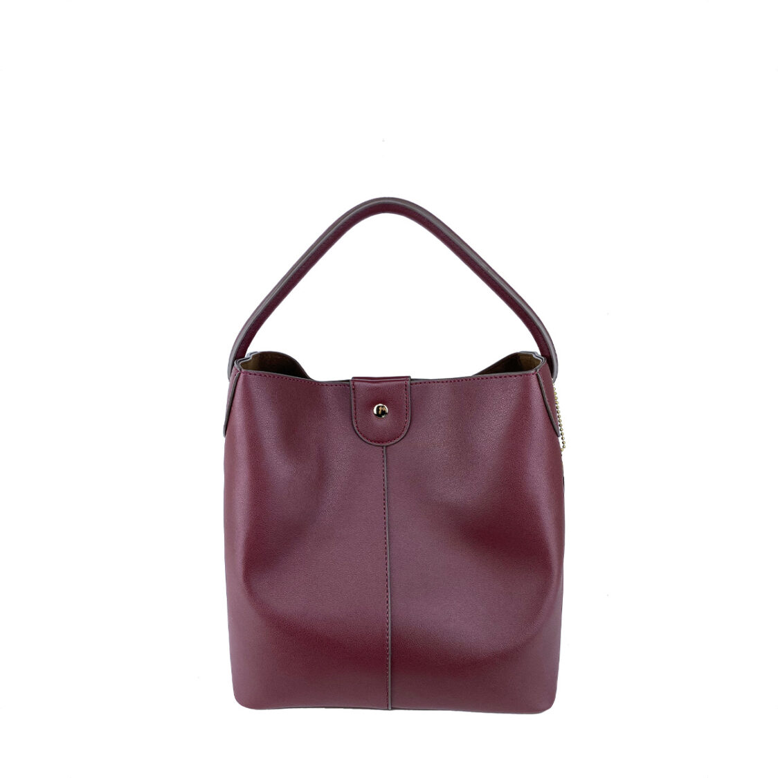 Perllini  Mel Bucket Sling Bag With Removable Pouch Wine PY9919-Wine