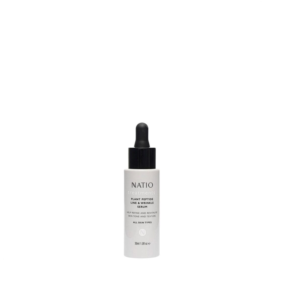 Natio Treatments Plant Peptide Line  Wrinkle Serum 30ml