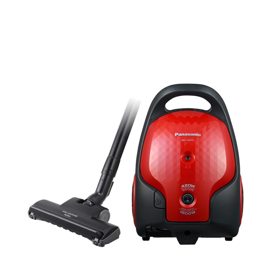 Panasonic Vacuum Cleaner Red 1800W MC-CG373