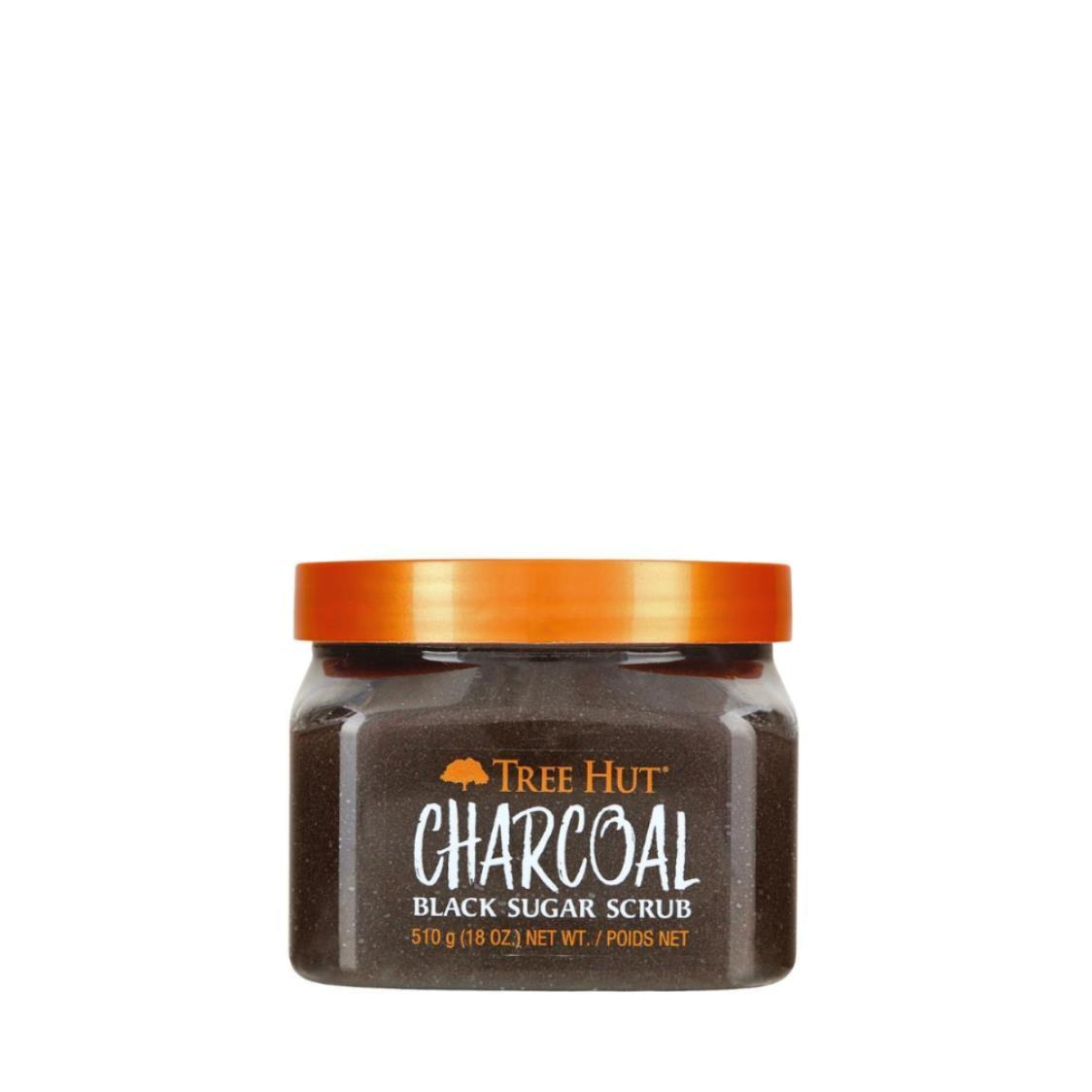 Charcoal Black Sugar Scrub 18oz 510g