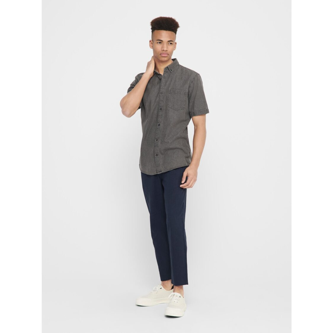 Only  Sons Onsleo Linen Mix GW 3002 Noos Dress Blue