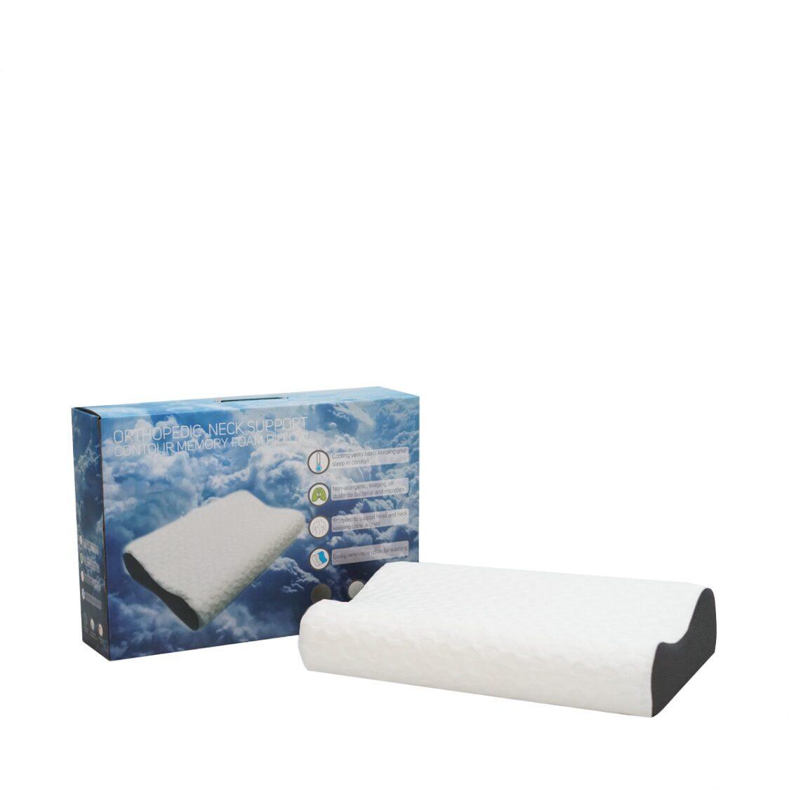 Ekohome Contour Memory Foam Pillow