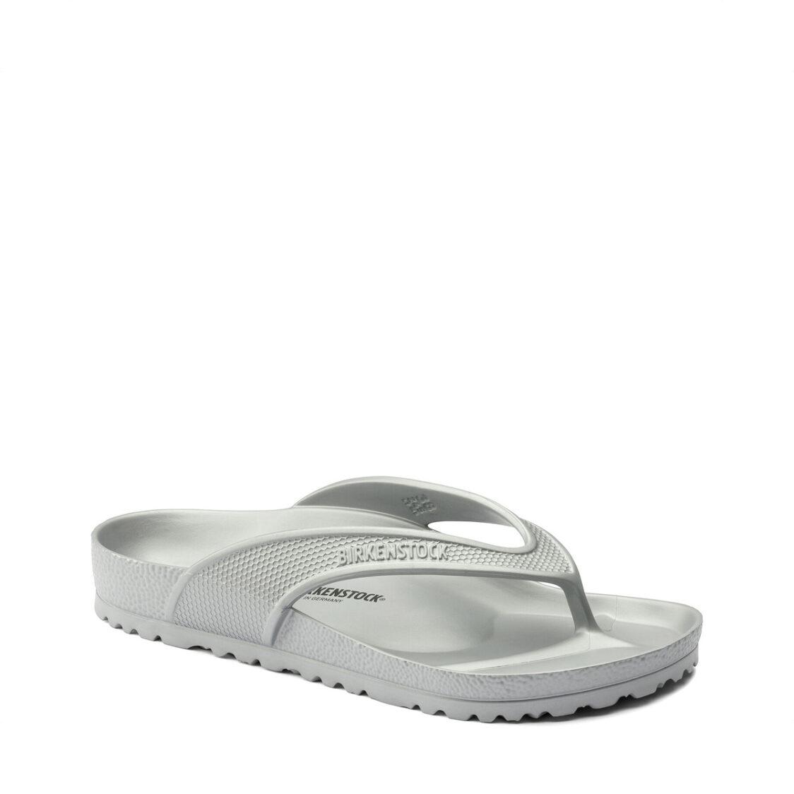 Birkenstock Honolulu EVA Unisex Regular Width Sandals Metallic Silver
