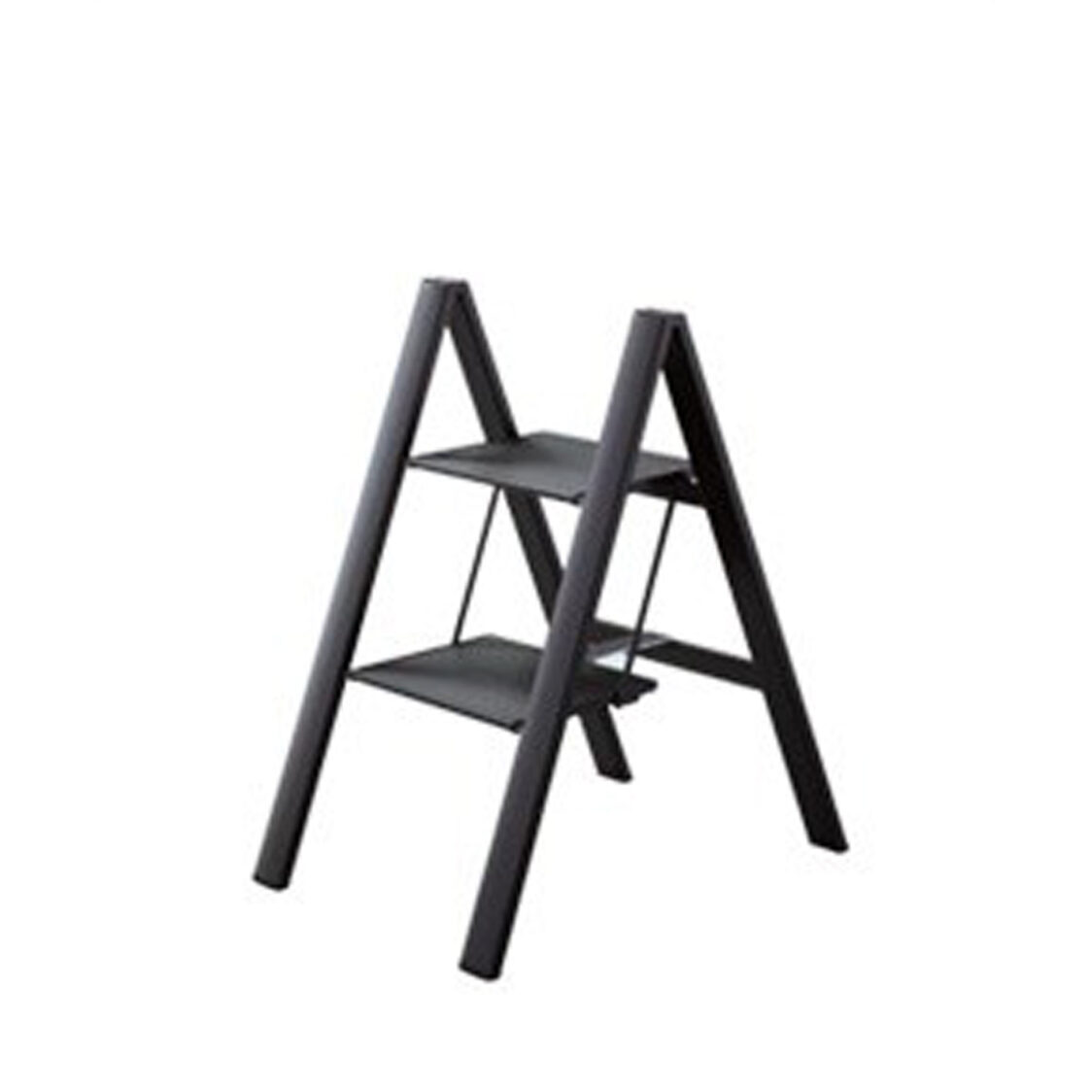 Lucano Slim Step Alum 2 Stepstool Ladder ML5BKA