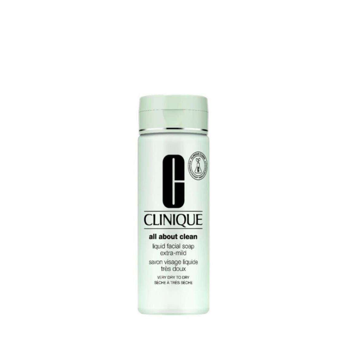 Clinique All About Clean Liquid Facial Soap Extra Mild 200ml