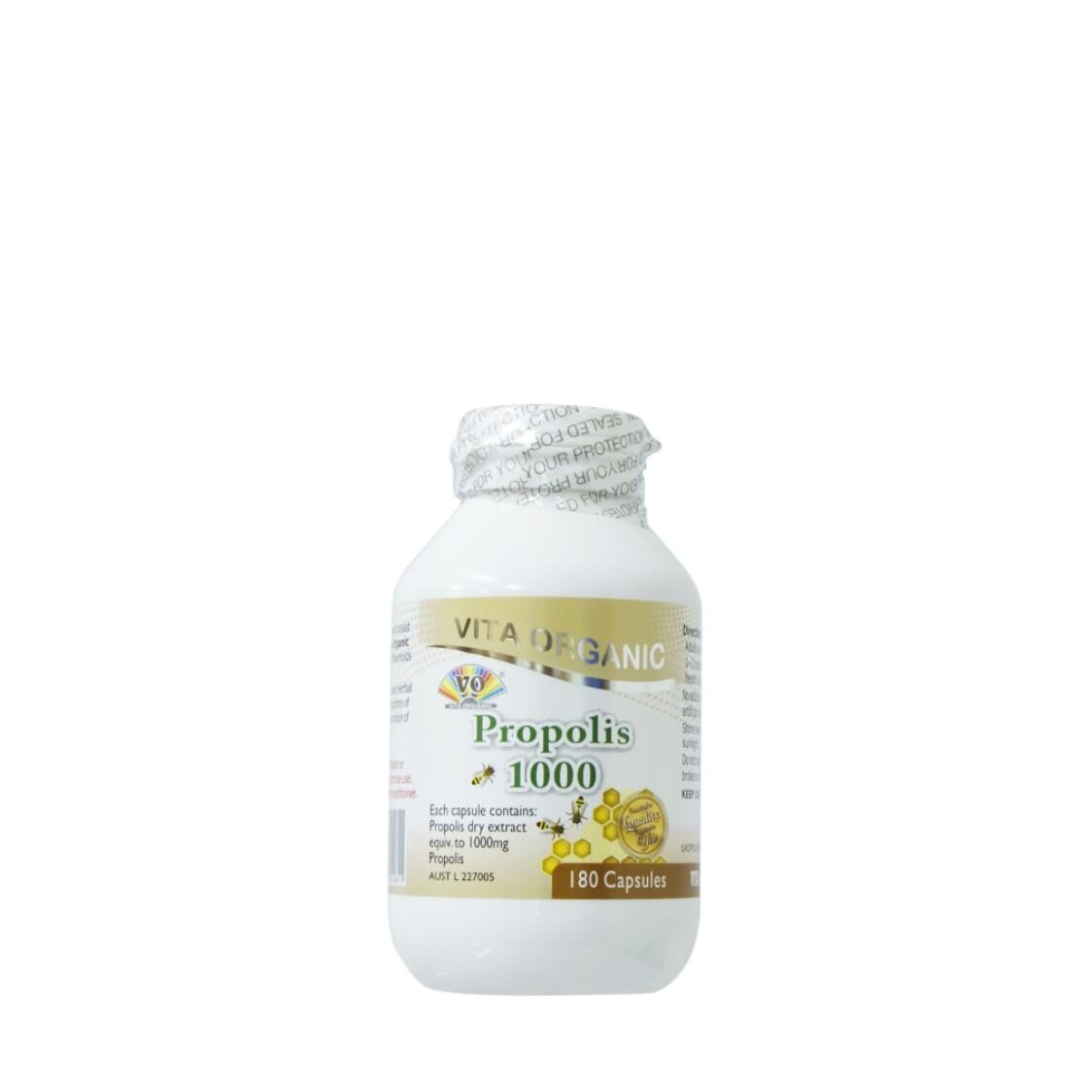 Vita Organic Propolis 1000 180 Capsules