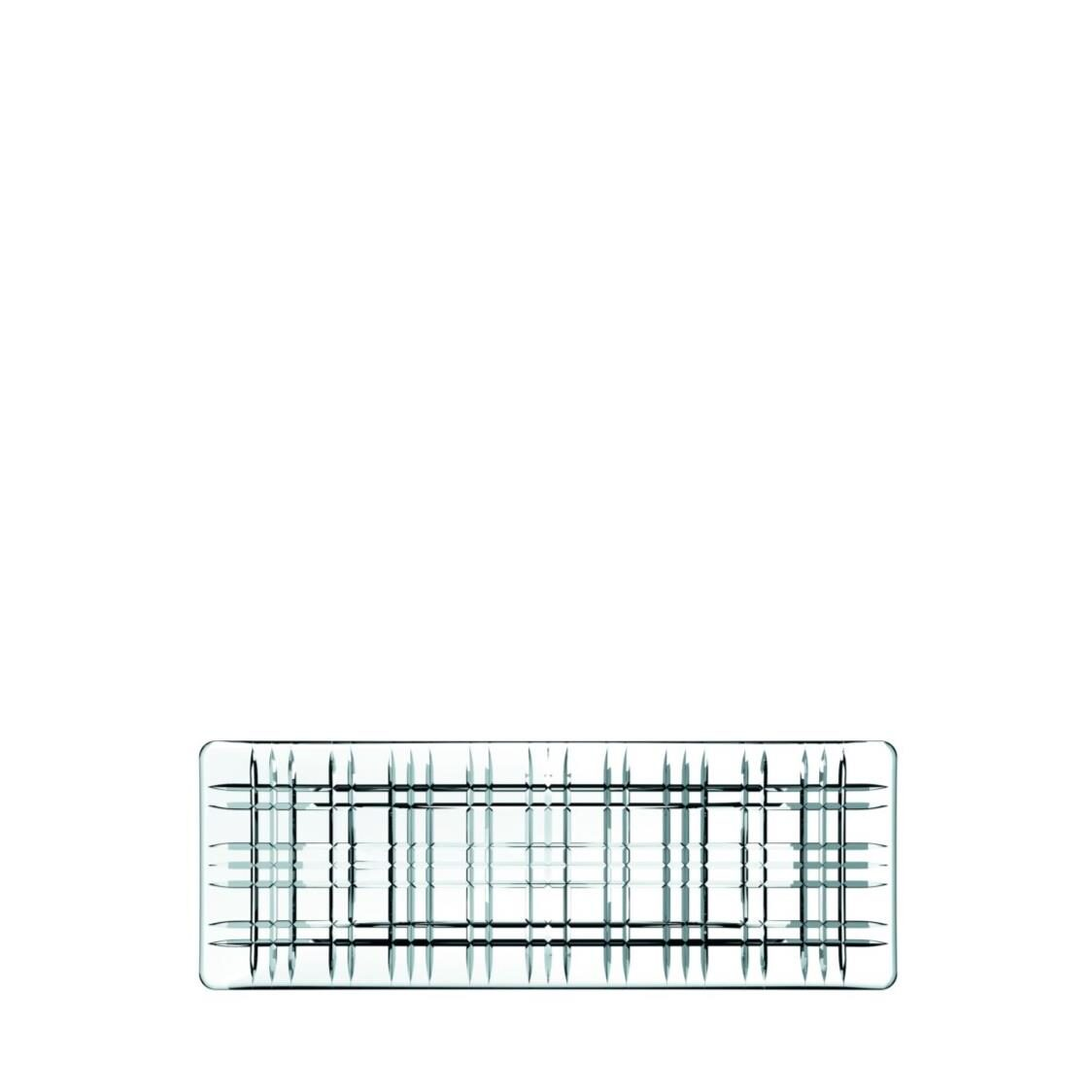 Nachtmann Lead Free Crystal Rectangle Plate Square R-101048