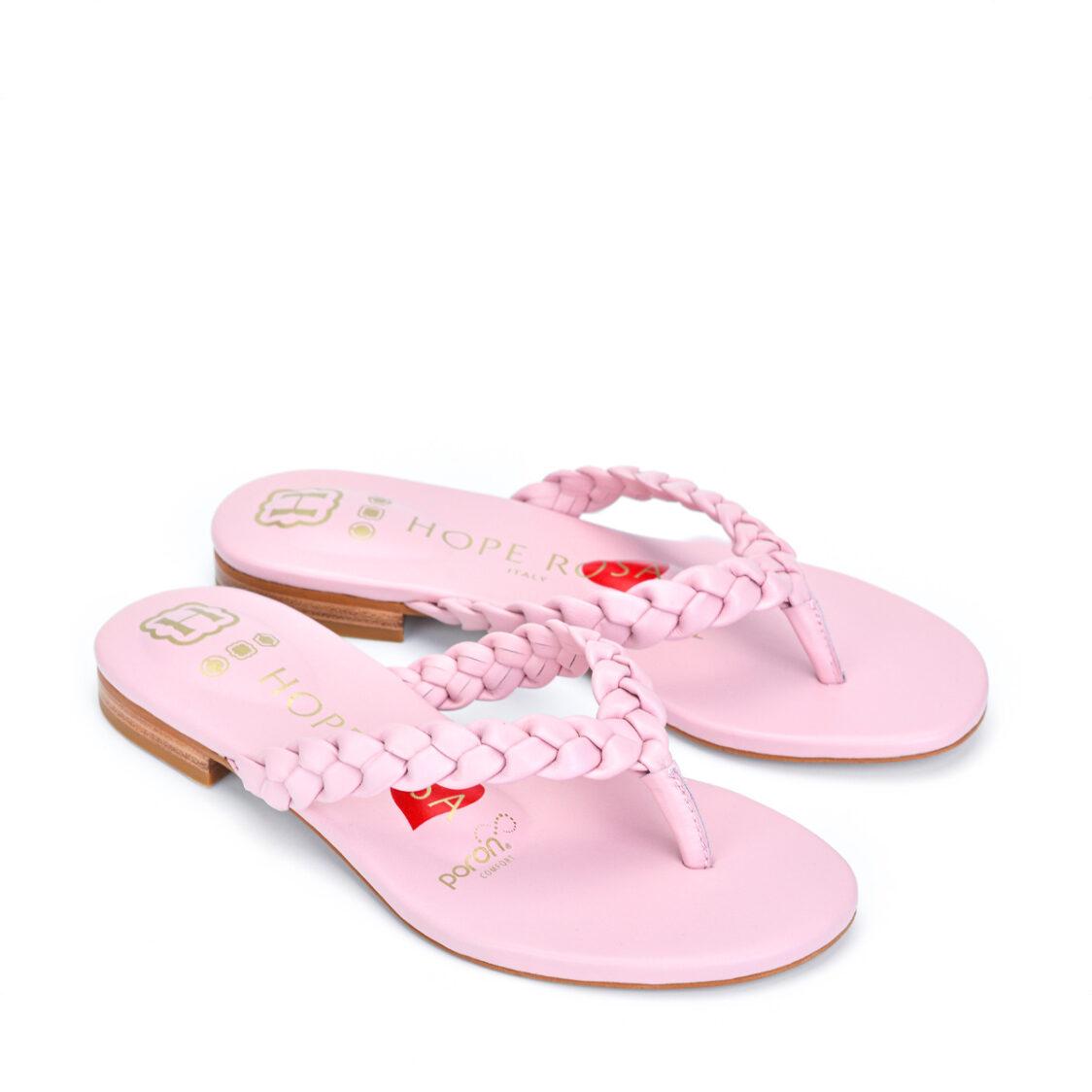 Hope Rosa Shiva Thongs Powder Pink