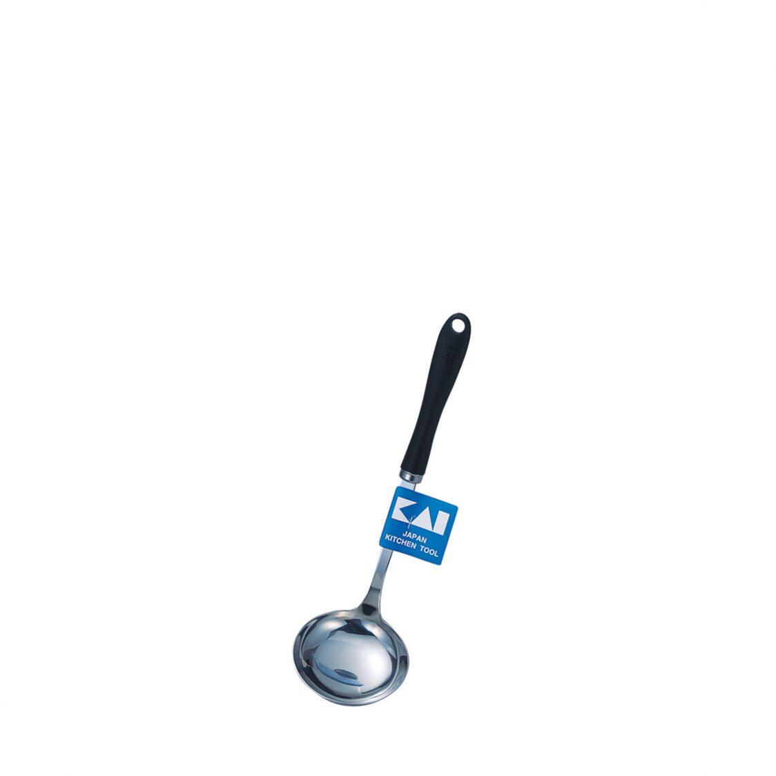 Kai Stainless Steel Soup Ladle L Size DE-940