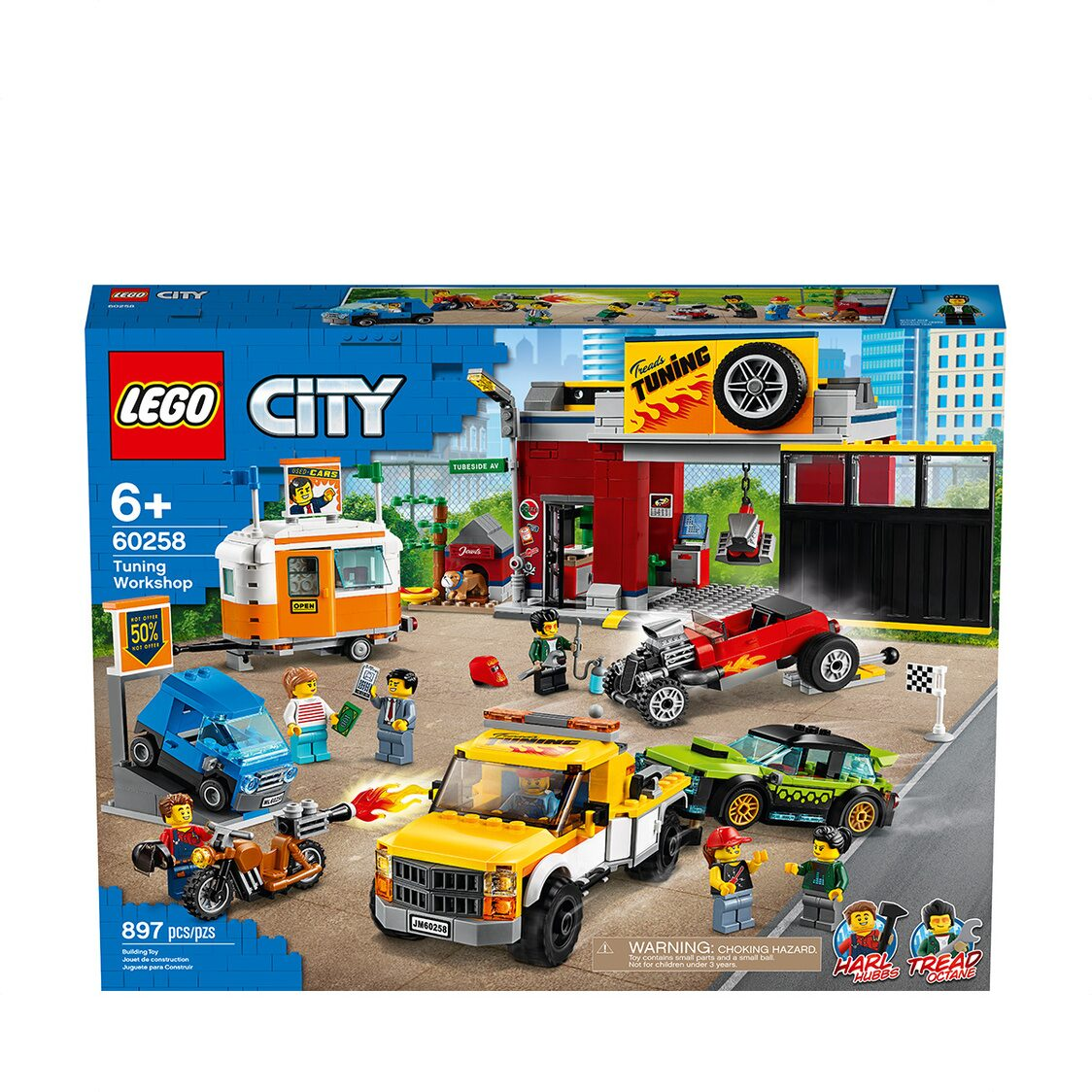 LEGO CITY - Tuning Workshop 60258